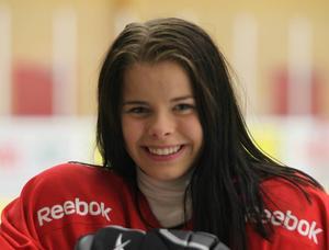Elsa Svensson gjorde ett av målen mot Nora.
