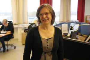 Bästa apotekskundtjänsten finns i Ljusdal. Lena Kavallin, personalchef för ICT, får räkna med att rekrytera mer folk när verksamheten växer.