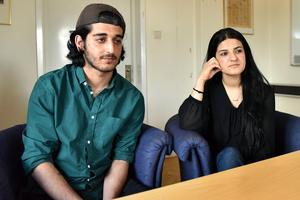 Ahmed och Derin Mohammed är ödmjuka för allt engagemang bygden visar.