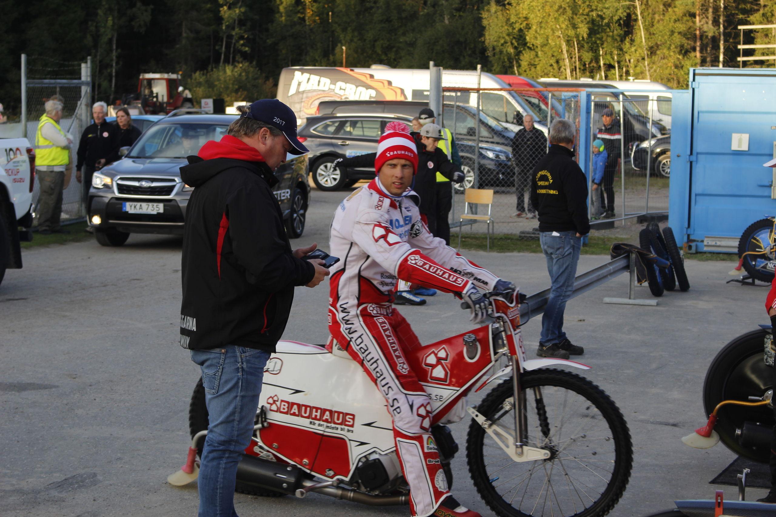 Andreas jonsson missar semifinalen