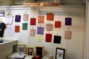 Framtiden. Elever från Hammars skola, Sjöängsskolan och Närlunda skola visar upp konsthantverk som de har skapat på slöjden.