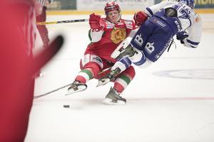 Moras Erland Lesund satte effektivt stopp för Jesper Ollas Mora.