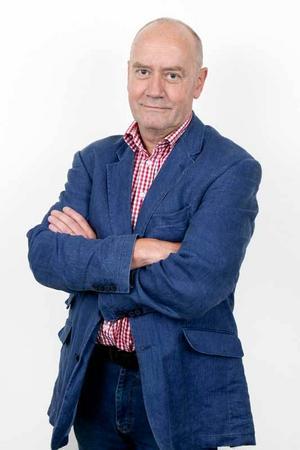 Sven Johansson, chefredaktör och ansvarig utgivare.