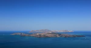 Nu har vulkanen på Santorini vaknat.