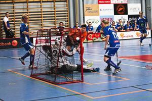 SIBF:s målvakt Åsa Östlin var mycket duktig mot Sundsvall och släppte bara in tre mål.