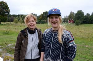Biologer. Cecilia Journath Pettersson, naturvårdsbiolog, och Daniel Bergdahl, fiskeribiolog, arbetar på länsstyrelsen i Örebro och bidrog med expertkunskaper till skolundervisningen.