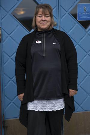 Britt-Marie Frisell är hotellchef i Vålådalen.