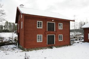Turbinerna i sågverket i Stocksbo, flyttades 1917 till den intilliggande kvarnen.