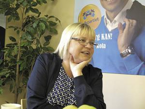 Nya kommunalrådet Helene Åkerlind, L, lovar att Gävle kommun ska ha kvar tjänsten som central tillgänglighetssamordnare