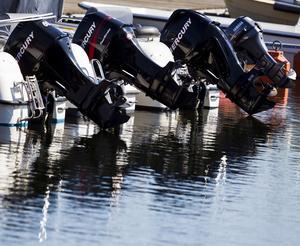 För det mesta stjäls flera båtmotorer vid samma tillfälle.