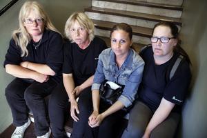 Det budskapet vill Christan Karlberg, Threse Vellonen, Bagriell Nalin och Charlotte Narva skicka till politikerna som ansvarar för städupphandlingen.