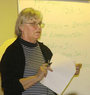 BYTTE SIDA. Tidigare s-politikern Elisabet Lindelöf känner sig fientligt behandlad av kommunen sedan hon bytte sida och blev styrelseledamot i FUB, en handikappförening som företräder utvecklingsstörda och personer med autism.
