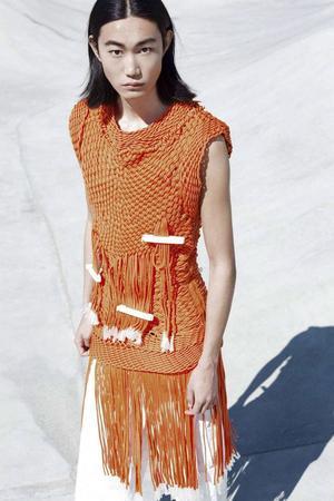 Tank top skapad av modedesignern Per Hansson.
