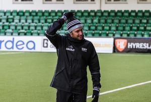Mattias Nylund var inte alldeles nöjd med den andra halvleken.