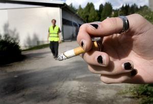 Som en tillfällig förstärkning patrullerar Bromangymnasiets nye rökvakt skolgården under terminens första veckor. Han informerar om skolans regler och hänvisar rökare till de två rökkurerna utanför skolans område.