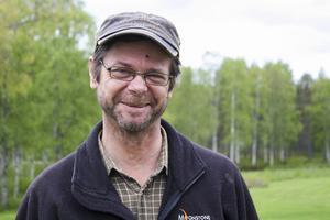 Lars-Inge Lööv ser fram emot kursen som ska starta på Bäckedal.