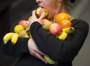Varierad kost är nyckeln till en sund livsstil, menar Katarina Sandström.