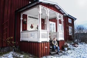 Anja Stigsdotter tar över släktgården i Fridsbacka där Anders och Kristina Samuelsson (Sammels) bodde i mitten av 1800-talet.