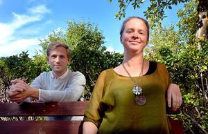 Tommy Eriksson och Sofia Sahlin planerar en inspirations- och utbildningskväll i syfte att försöka få fler att våga sig på att starta ett bed and breakfast i Ljungandalen.
