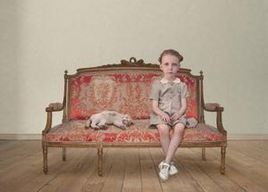 """The waiting girl"" från 2006. Foto: Loretta Lux"