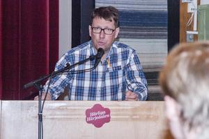 Anders Häggkvist (C), kommunalråd talade om tuffa utmaningar framöver för kommunen.