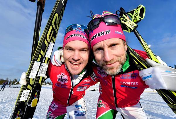 Robin Bryntesson och Peter Jihde ska åka Vasaloppet.