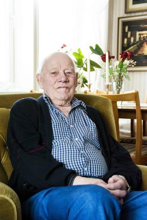 Gert Öström har bott på samma tomt i Njurundabommen i större delen av sitt liv.