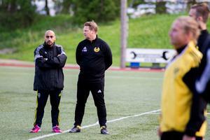 Hebytränaren Per-Åke Swärdh har en plan på hur hans lag ska kunna stoppa Jakob Eklund.