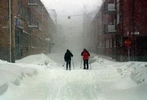 Skidor blev det ultimata sättet att ta sig fram.