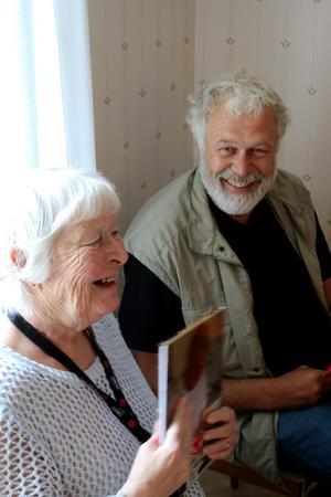 En bok full av glada minnen, vackra platser och många människor, var en gåva till Birgitta Abrahamsson från Udo Adolphs.