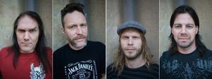 Mats Andersson och Ralf Gyllenhammar, till vänster, har fått sällskap av två nya medlemmar, trummisen Danne McKenzie och gitarristen David Johannesson.