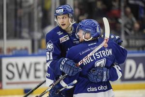 Ryno firar ett mål i Leksand.