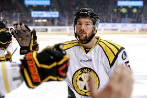 Simon Bertilsson är skadad och missar säsongsstarten i KHL och sin nya klubb Sotji. Arkivbild: Bildbyrån