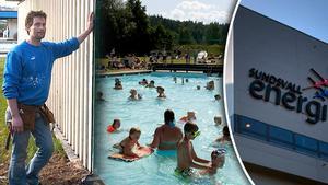 Anders Odelind, är rädd för Kubenbadets framtid efter att Sundsvall Energi inte längre kan sponsra badet.