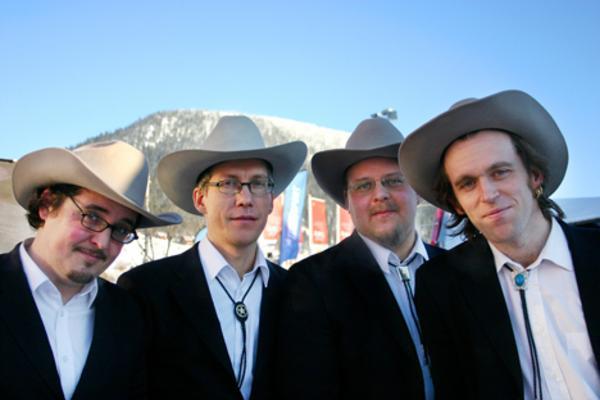 Blue Mountain boys är tillbaka med turné och ny skiva.