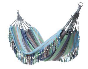 FRANS. Den randiga hängmattan med frans kommer från Indiska och kostar 799 kronor.