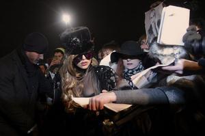 Lady Gaga i Ryssland.