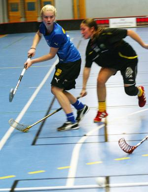 Sanna Olsson gjorde det viktiga 7–5-målet.