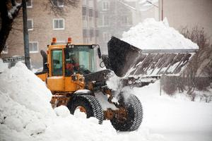 Så här såg det ut i Härnösand i december 2012.