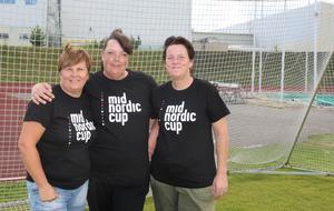 IFK Timrå-medlemmarna Marie Edström, Marie Pettersson och Ulrika Shoja-Saffar är några av de som engagerat sig mest i cupen.