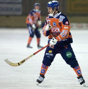 Anfallaren Tobias Björklund, 22 år, är klar för spel i Ljusdals BK.
