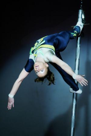 Ett höjdarnummer för modiga och urstarka akrobater.