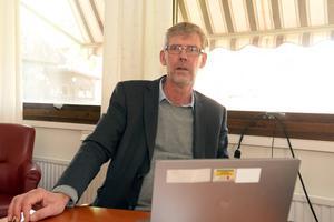 Gunnar Barke (S), landstingsråd och ordförande i Landstingsfastigheter.