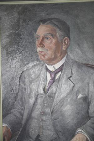 Ett porträtt av Jon Olof Nordlund målades 1938.