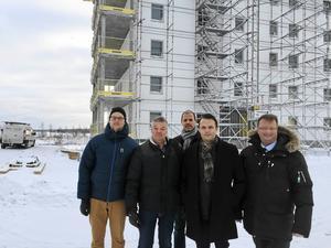 Adam Rydstedt, Jonas Holm, Peter Lagerqvist, Erik Andersson och Lars Beckman.
