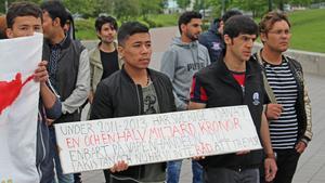 Det har hållits liknande demonstrationer förut, både i Borlänge och Falun.