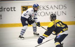 Wilma Johansson har en bra magkänsla och hoppas på stöd från Leksandssupportrarna onsdag kväll.