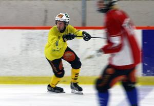 Efter nästan ett års sjukfrånvaro var Stefan Larsson hur spel- och åksugen som helt.