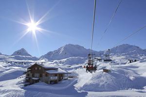 Skidorten Serre Chevalier ligger i sydvästra Frankrike.