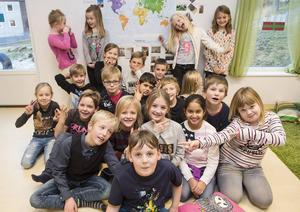 Klass 2A Bosvedjeskolan.